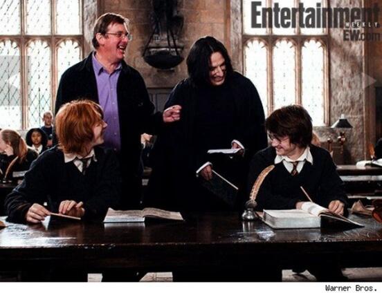 Картинка для Забавные кадры со съемок Гарри Поттера