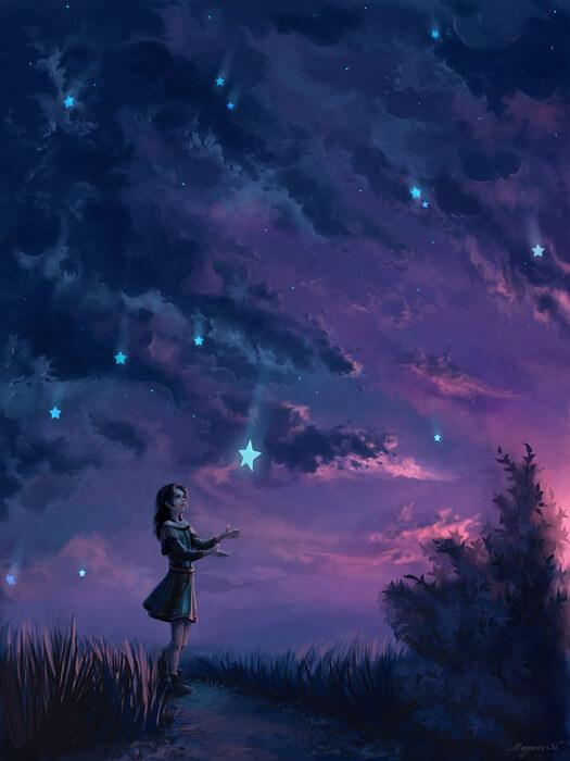 Картинка для ⭐️ эстетика звезд ⭐️