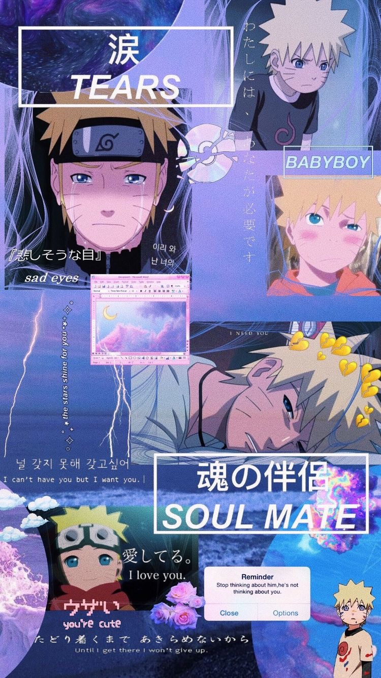 Картинка для Не покидай меня…   Naruto
