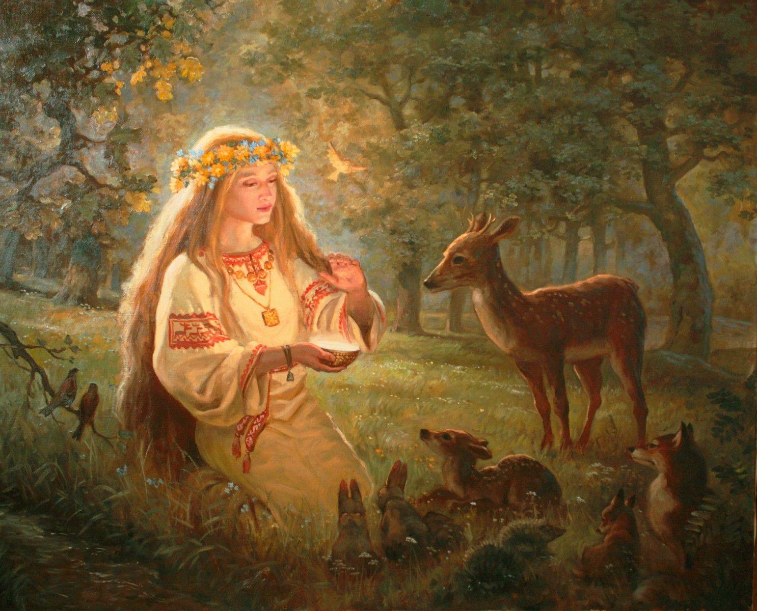 славянская богиня лада фото даже
