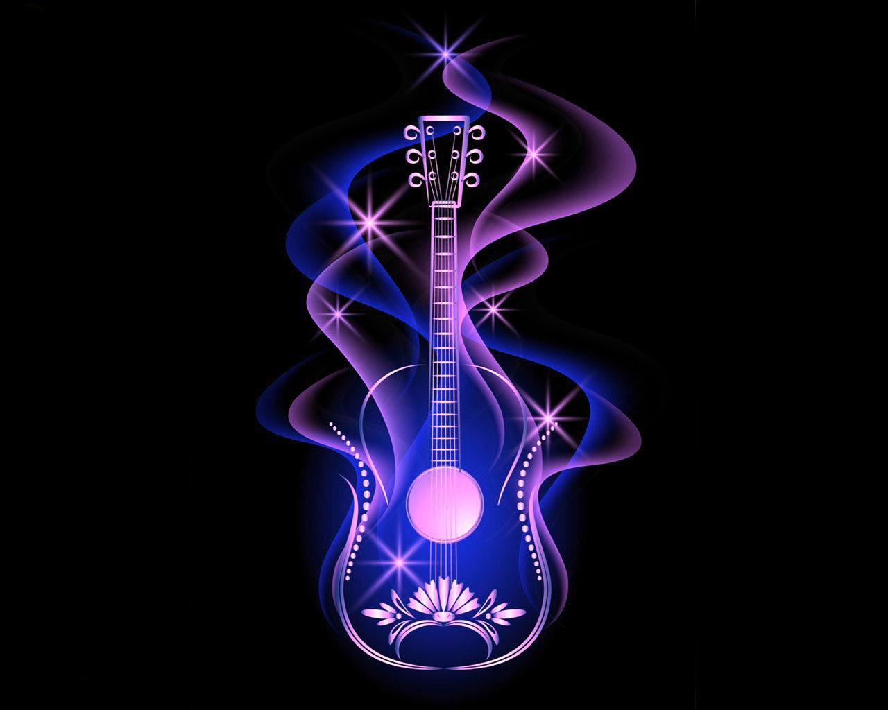 многих такая красивые картинки ноты и гитара устройство