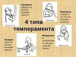 Картинка для Какой ты тип темперамента?