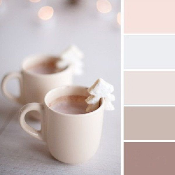 Картинка для Цветовая палитра|Нежные цвета