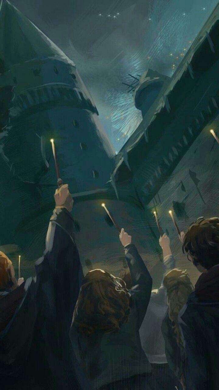 Картинка для Ты — новый персонаж из мира Гарри Поттера.