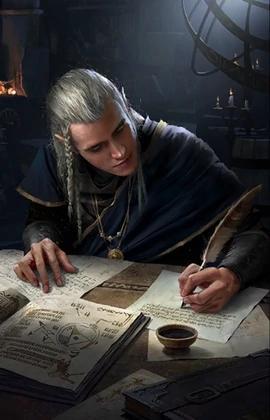 Картинка для Насколько хорошо ты знаешь эльфийский язык (Ведьмак)