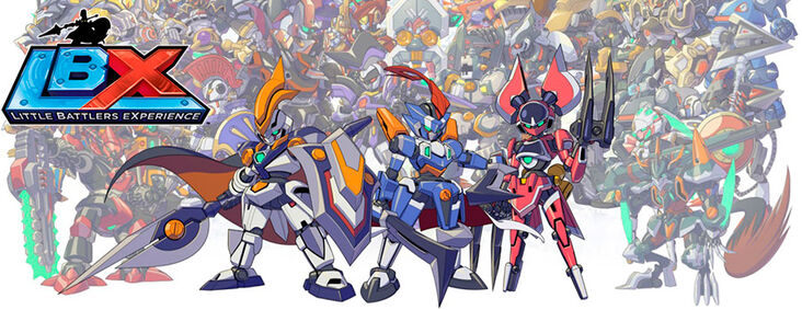 Картинка для Новый робот LBX