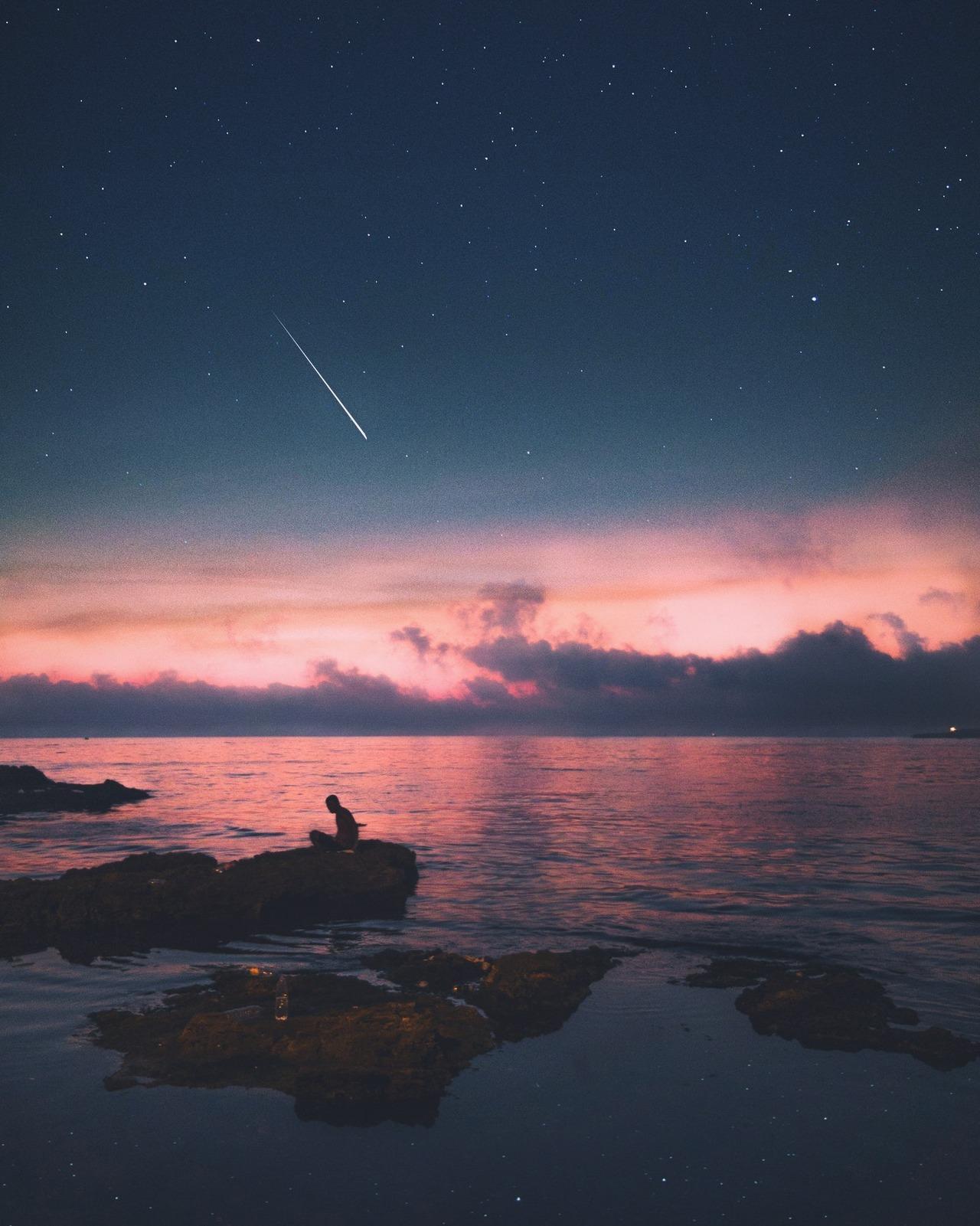 Картинка для ~ падающая звезда ~