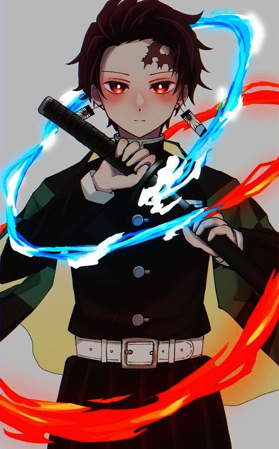 Ты- новый персонаж аниме Клинок рассекающий демонов ...