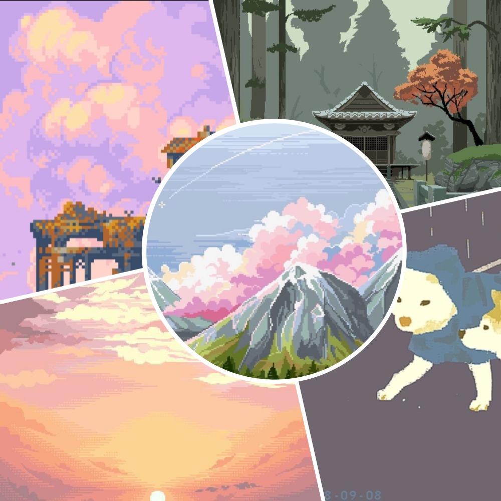 Картинка для 8-битные картинки (пиксель арты)