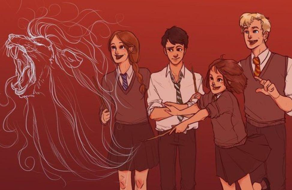 Картинка для На каких факультета Хогвартса учились бы герои Хроники Нарнии?