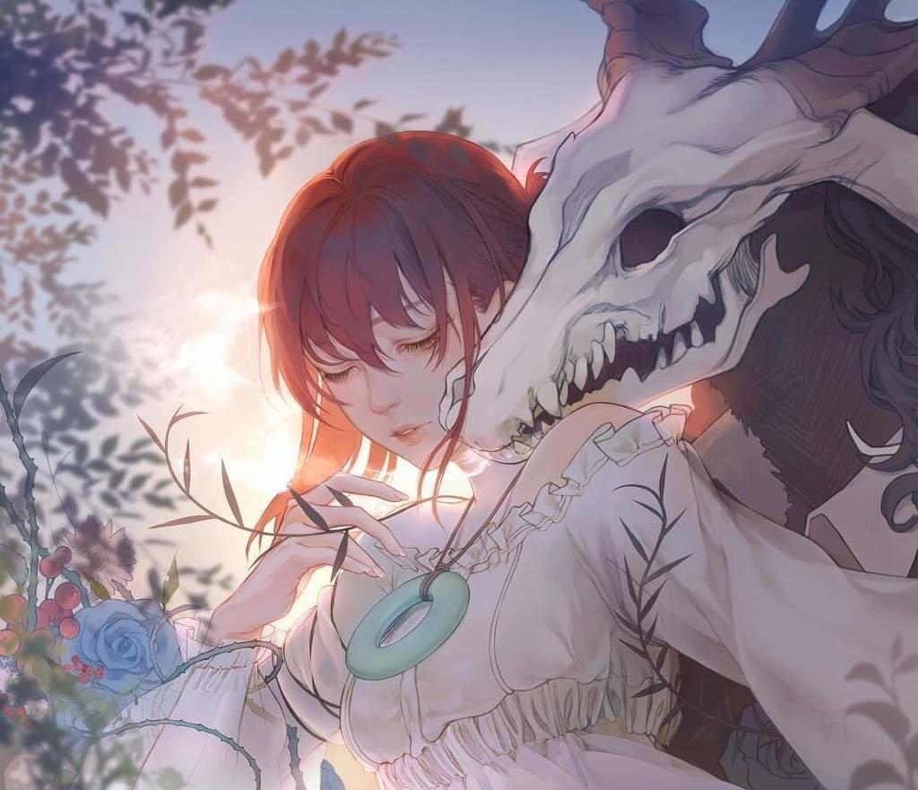 """Картинка для На кого ты больше похожа в аниме """"Невеста Чародея""""?"""