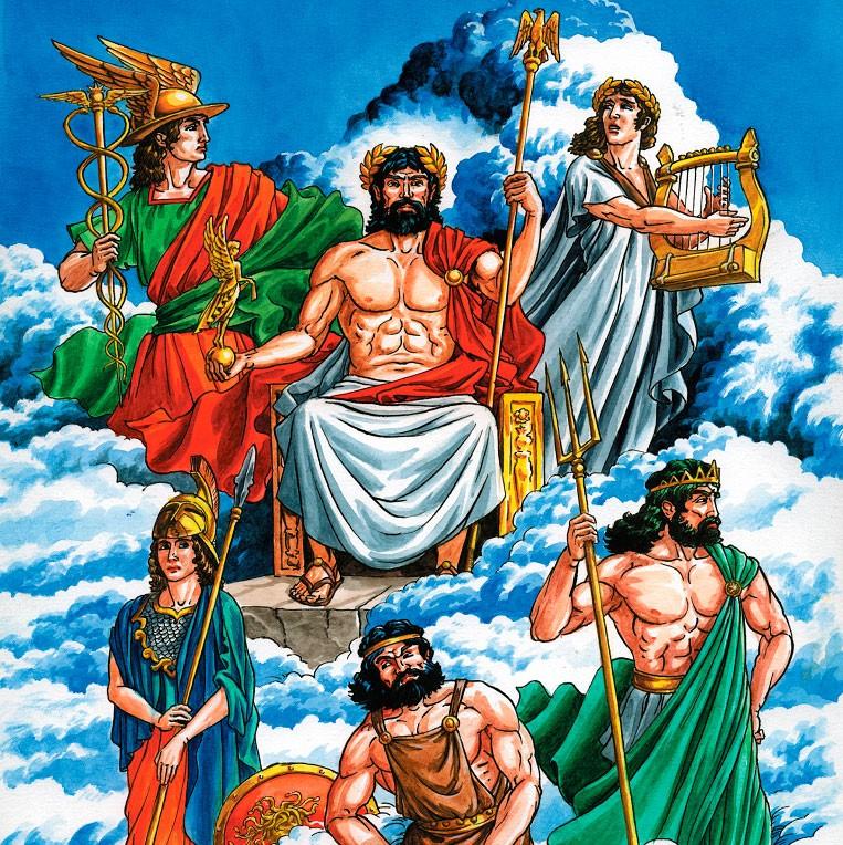 божества мифологии картинки проблема