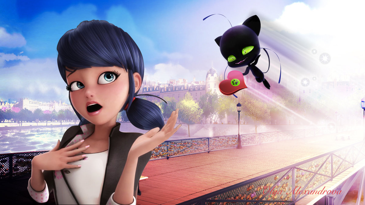 Картинка из мультика леди баг и супер кот
