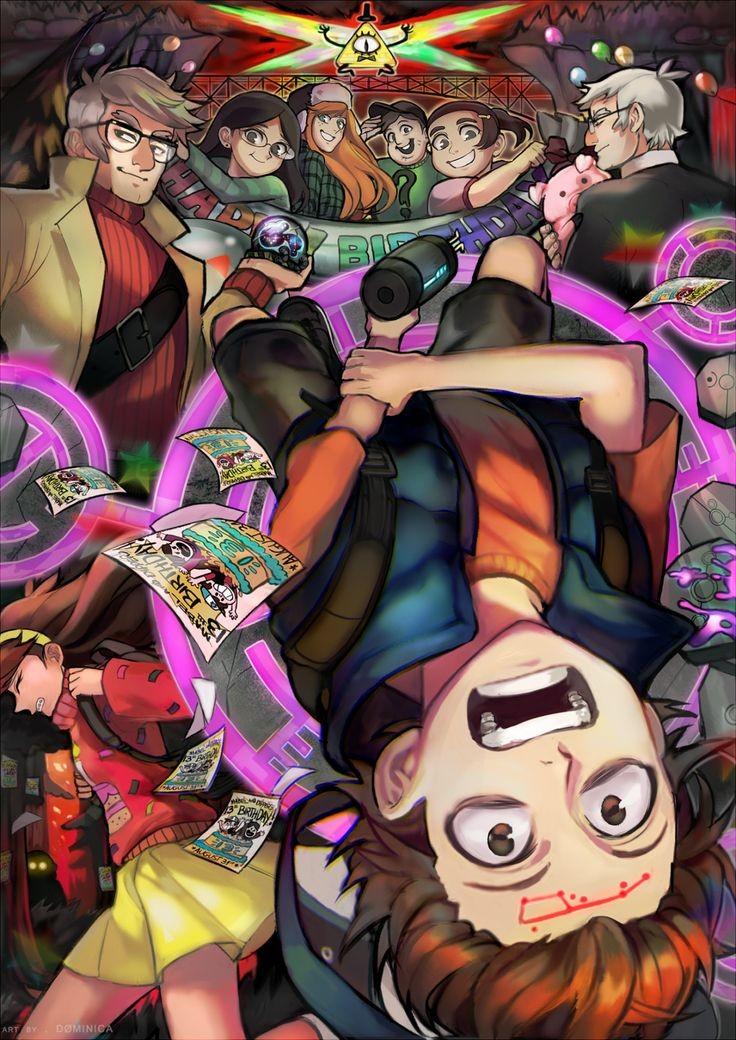 Картинка для ⏭Ты — новый персонаж в Гравити Фолз⏯