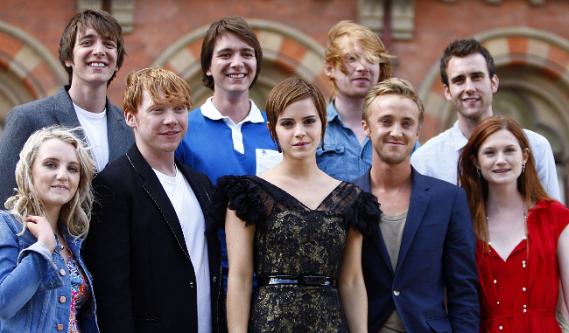 """Картинка для Актёры """"Гарри Поттера"""" тогда и сейчас."""