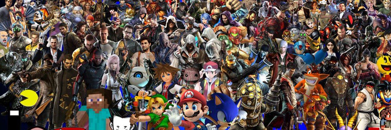 важно картинки с персонажами разных игр любом