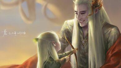 Картинка для Эльфы — няши! Арты с эльфами средиземья.