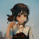 Рисунок профиля (Огонёк | Лис _ Хината _ Странная девочка_ #🍀🆘)