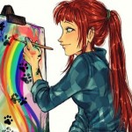 Рисунок профиля (♥POLLY♥)