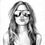 Рисунок профиля (American Girl)