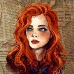 Рисунок профиля (Ангел в стильных кедах)