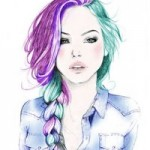 Рисунок профиля (annabelyugova)