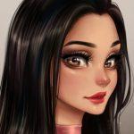 Рисунок профиля (Леди Найт)