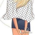 Рисунок профиля (Лиса Алиса)