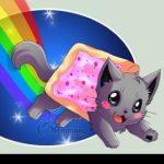 Рисунок профиля (Nyan Cat^^)