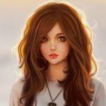 Рисунок профиля (●•●•♕SanЯ♕●•●•)