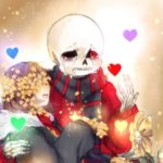 Рисунок профиля (✿ FlowerFell!Sans ✿)
