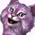Рисунок профиля (Кошка Лана)
