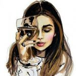 Рисунок профиля (Милашка:))