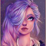 Рисунок профиля (˙·٠•●๑…MisS_KaPriZzz…๑●•٠·˙)