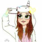 Рисунок профиля (Гермиона)