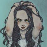 Рисунок профиля (🔥Огненная Рысь🔥)