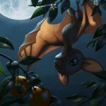 Рисунок профиля (Летучая мышка)