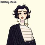 Рисунок профиля (Лина Малфой🐍)