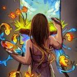 Рисунок профиля (Поцелованная Солнцем)