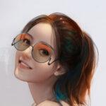 Рисунок профиля (Гермиончик)
