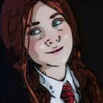 Рисунок профиля (❤Кэти Малфой P.d❤)