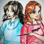 Рисунок профиля (Лунатик и Бродяга)
