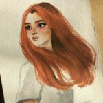 Рисунок профиля (Василиса Огнева)