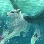 Рисунок профиля (Волчица-воин)