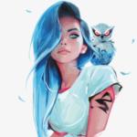Рисунок профиля (@злой_кот@)