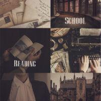 School. Reading. Friends. (Школа. Чтение. Друзья.)