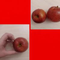 Красный дар (яблоки).